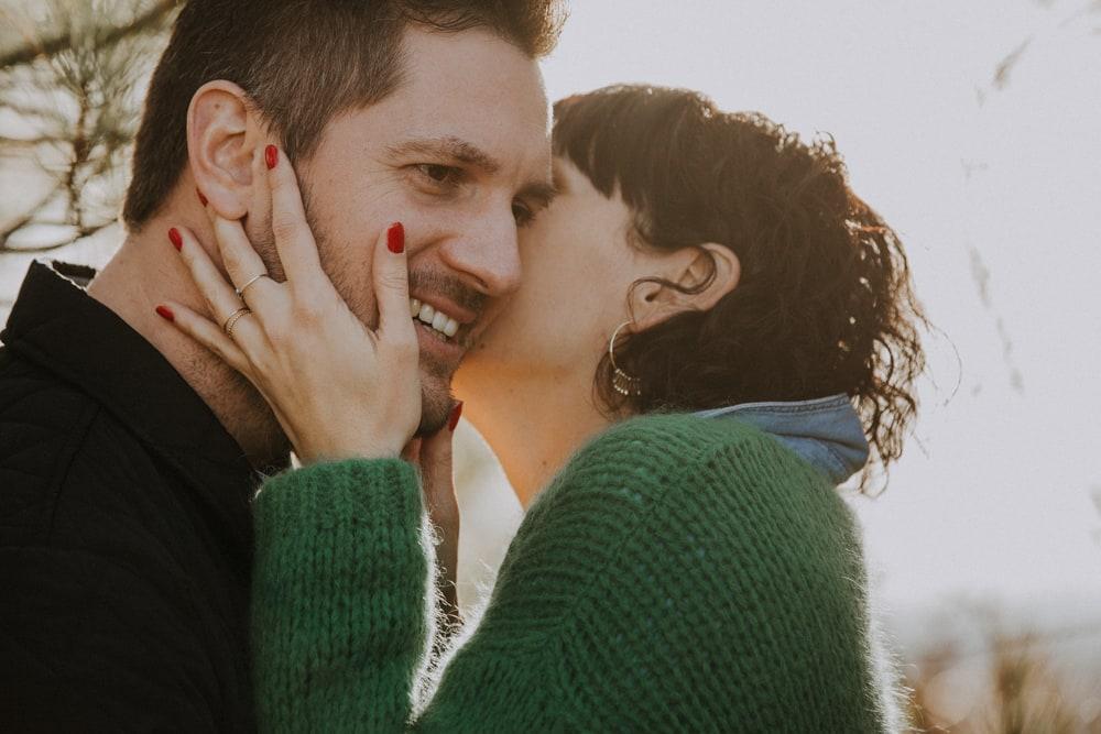 J'ai un secret à te dire pour notre séance photo de couple